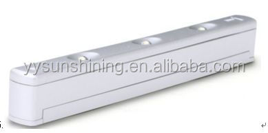 Battery operated vibration inductive switch light led drawer light with sensor led cabinet light