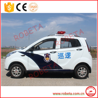 comfortable sedan design 4wd electric vehicle for city security