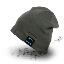 Music Beanie Hat Unisex Winter Warm Knit Cap with Built in Wireless Stereo Speaker Headphone for Outdoor Sport Magic Hat