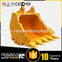 Promotion Price High Quality HARDOX-500 Material R360 excavator rock bucket