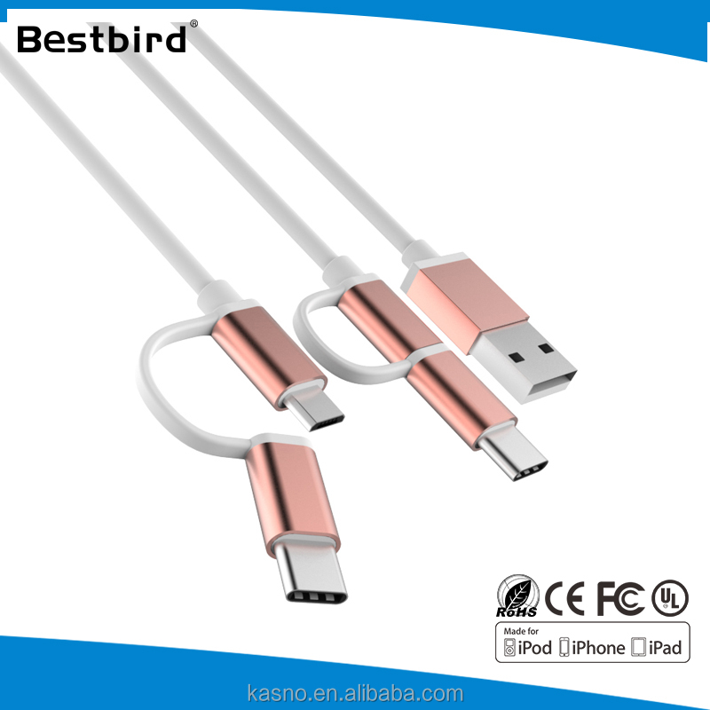 HLT two sided usb macro double sided otg usb cable