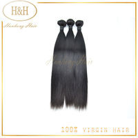 6A Grade Sliky Straight Natural Color Human Hair, Wholesale Price Natural Brazilian Hair 100% Hair Extension