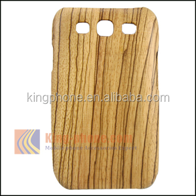 For Samsung Galaxy S3 Back Cover, For Samsung Galaxy S3 real wooden cell phone case, for galaxy s3 wholesale price