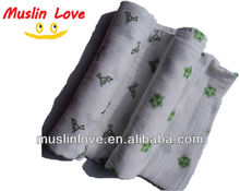 "HOT!!! Baby Muslin Wrap Swaddle Blanket 100% Organic Cotton Super Soft 47x47"" After Washed"