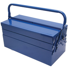 blue Color Iron truck tool box tool cabinet toolbox