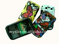 Cell Phone Silicon+PC Combo Case for BlackBerry Bold 9700