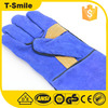 washable knitted seamless protective equipment purple brand name safety gloves