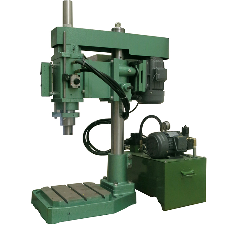 one axis castings tapping tapper threading machine