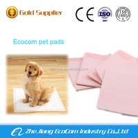 New design waterproof disposable urine absorbent pet pad
