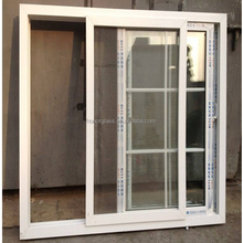Size customized aluminum profile/frame clear/tempered glass window