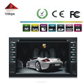 6.2inch double din car dvd player with reversing camera GPS function