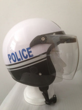 2017 newest half- face police helmets,high quality cheap price,sport helmet