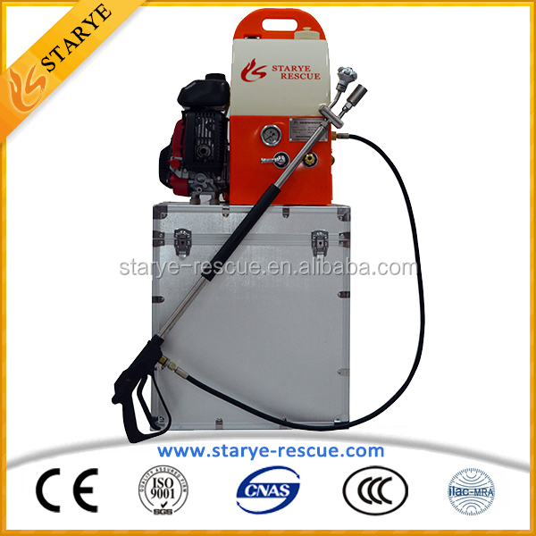High Efficient Firefighting Portable Backpack Water Mist Fire Extinguisher Firefighting Water Mist System