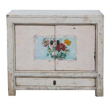 Chinese Antique Shabby chic furniture antique wooden living room cabinets designs