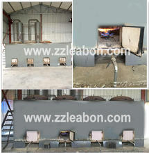 LEABON Multifuncational Wood/Rice Husk Briquette Carbonization Furnace