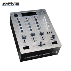 3 channel dj music sound system mixer console equipment