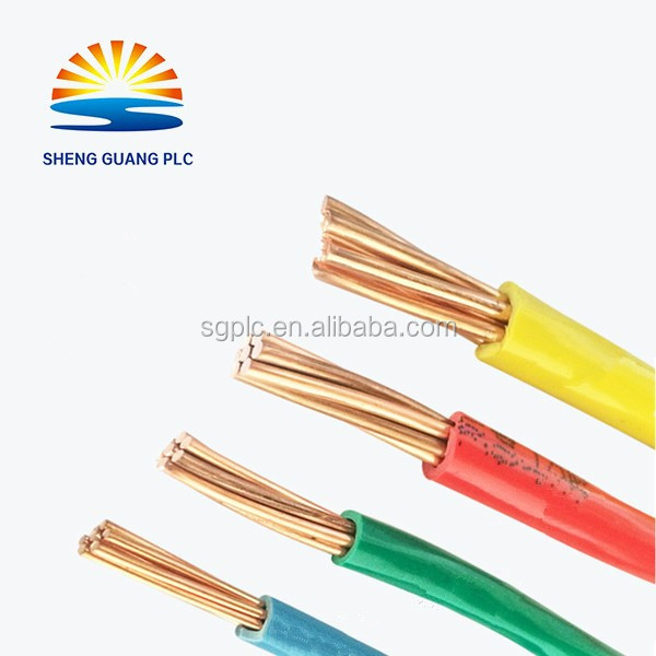 Flexible Fire Resistant 350/750V ZR-BV 4mm2 Copper Wire Cable