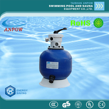 top mount 400mm diameter fiberglass plastic Reinforced Fibre sand filters tank for swimming pool para piscina circulation