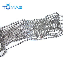 Guangzhou custom stainless steel ball chain spool