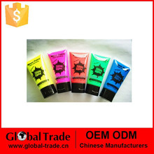 UV /Glow/Neon Face Paint in 50ml Tubes , safe and fun H0106
