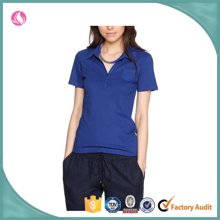 Wholesale woman clothing bulk custom polo shirt made in for Buy wholesale polo shirts