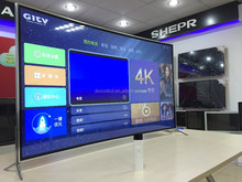 OEM 50 55 60 65 inch LED TV 4K curved tv with WIFI new model UHD smart tv