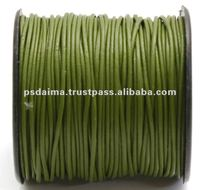 Round Leather Cord Wholesale Supplier