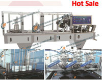 Stainless steel liquid cup filling sealer machine