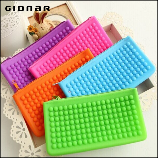 Wholesale Guangzhou Newest Pictures Lady Fashion Silicone Wallet