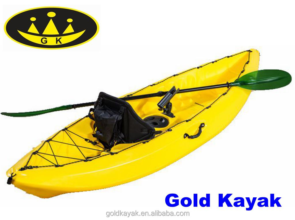 single fishing kayak