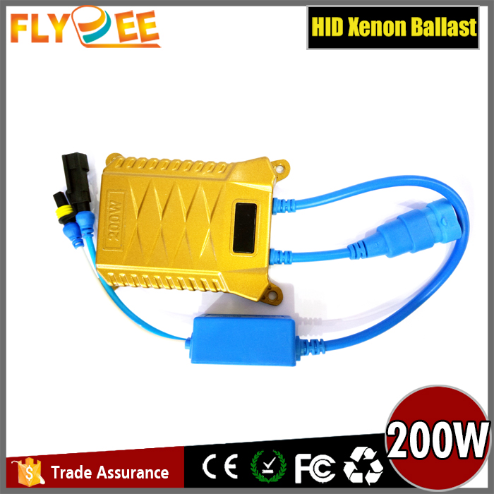 Wholesale High quality hot sale circular electronic ballast 200W hid ballast for all cars