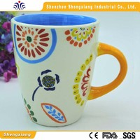 Wholesale factory directly selling printing decal enamel mug coffee mugs