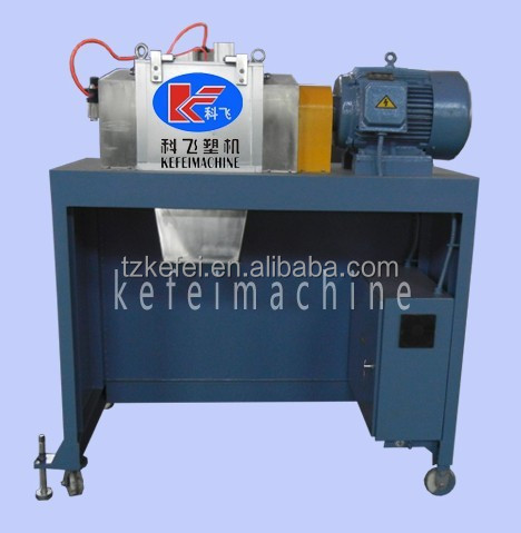 CE ISO certificate desktop type plastic recycling granule making machine / pelletizer