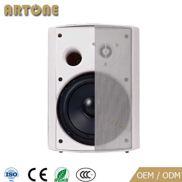 "High Quality Public address 4"" 5"" 6"" 70v 100v 8 ohm universal rohs two way 20W 30w 40w pa wall mount speaker"