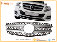 2013 2014 AUTO GRILLE FOR MERCEDES GLK SERIES FRONT RADIATOR GRILL GRILLE PANEL CHROME OEM