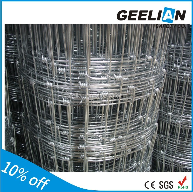 High Quality Galvanized metal goat horse wire mesh fence