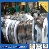 narrow width gi coils/galvanized slit steel coil weight