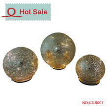 2015 new china alibaba iridescent glass ball glass ball