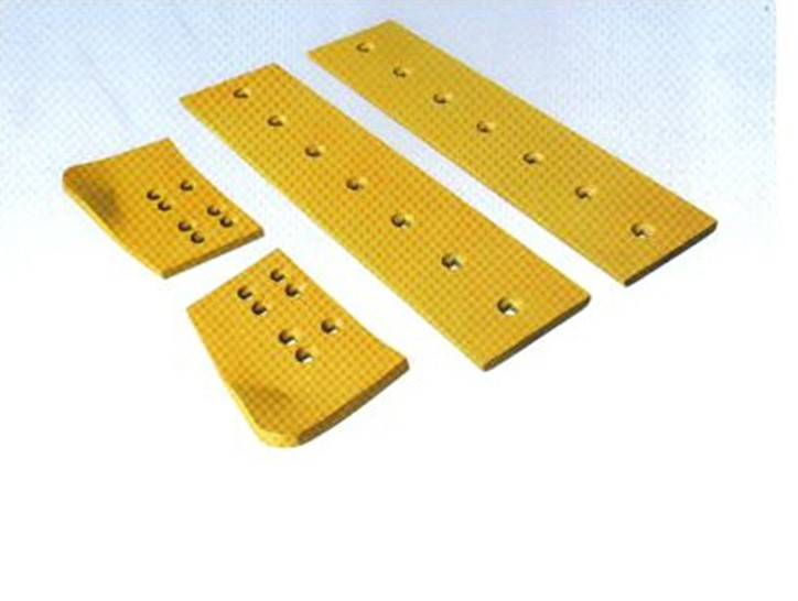 High quality heat treated Boron steel Motor Grader blades cutting edges and end bit for dozer and grader