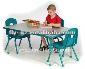 fantastic kindergarden play kids furniture sets table and chairs