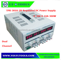 TPR-3010-2D 300W Precision Digital AC Power Supply 30V 10A Regulated DC Power Supply Voltage Stabilizer Dual Channel