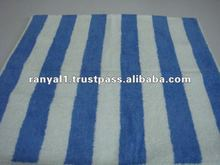 Jacquard striped cabana Pool Towels