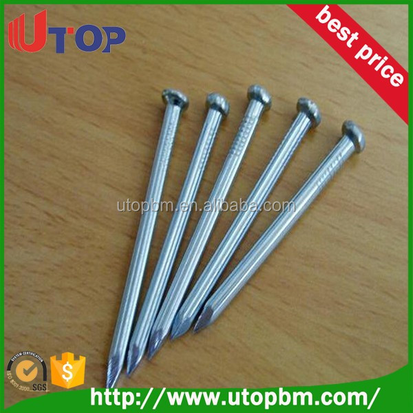 2.5 inch Flat Round Common Nails for construction