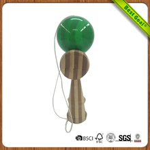 New design wholesale custom kendama ball wooden sword ball toy