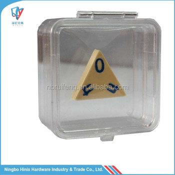 Clear Plastic Denture Gift Jewellery Presentation Box