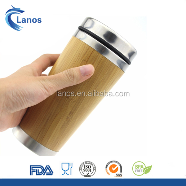 Wholesales bamboo eco friendly bamboo cup wooden beer mug
