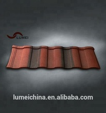 antique roofing material types stone coated roof sheet