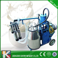 portable cow milking machine/ small animal milker price
