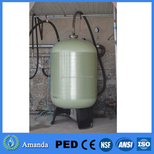 2472 Commercial and industrial Waste water treatment reinforced polyester tank FRP pressure vessel