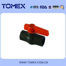 2015 china supplier new products 1/2 inch long handle pvc octagon ball valve with socket ends